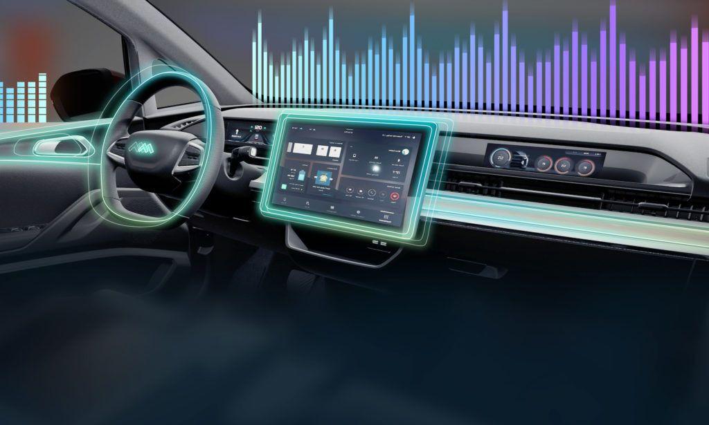 15-дюймовая мультимедийная система с голосовым управлением в Modern in