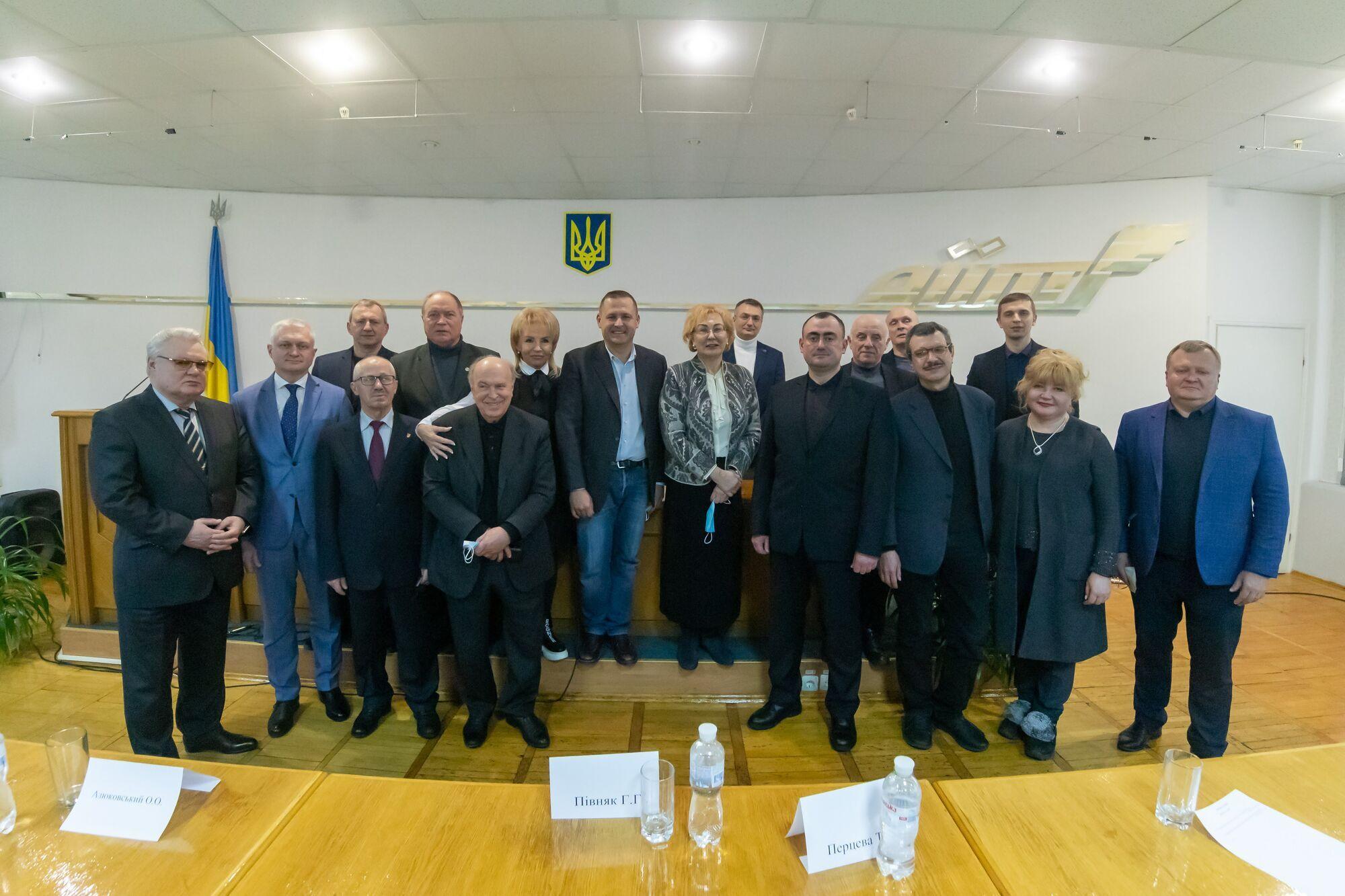 Совместное фото участников