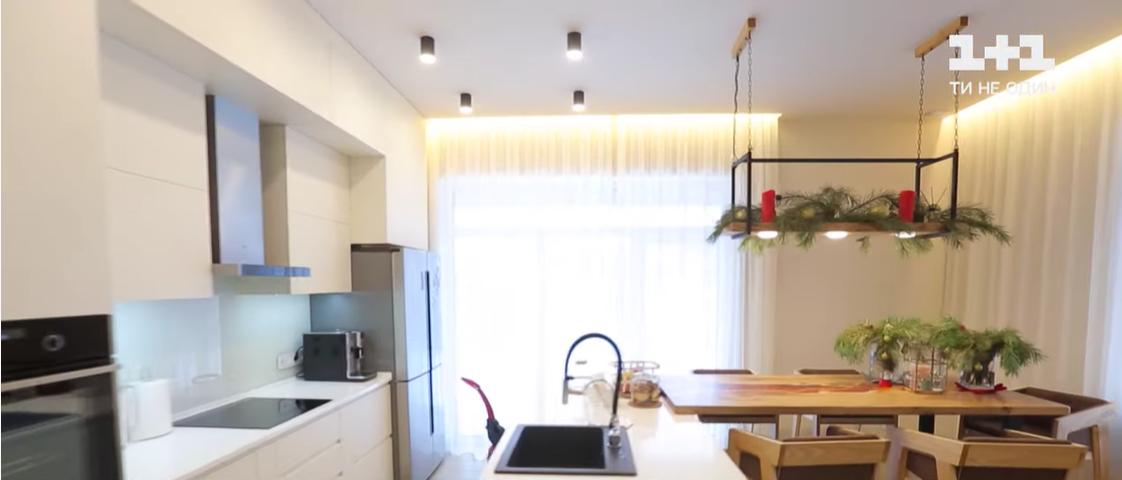 Кухня Тарабаровой