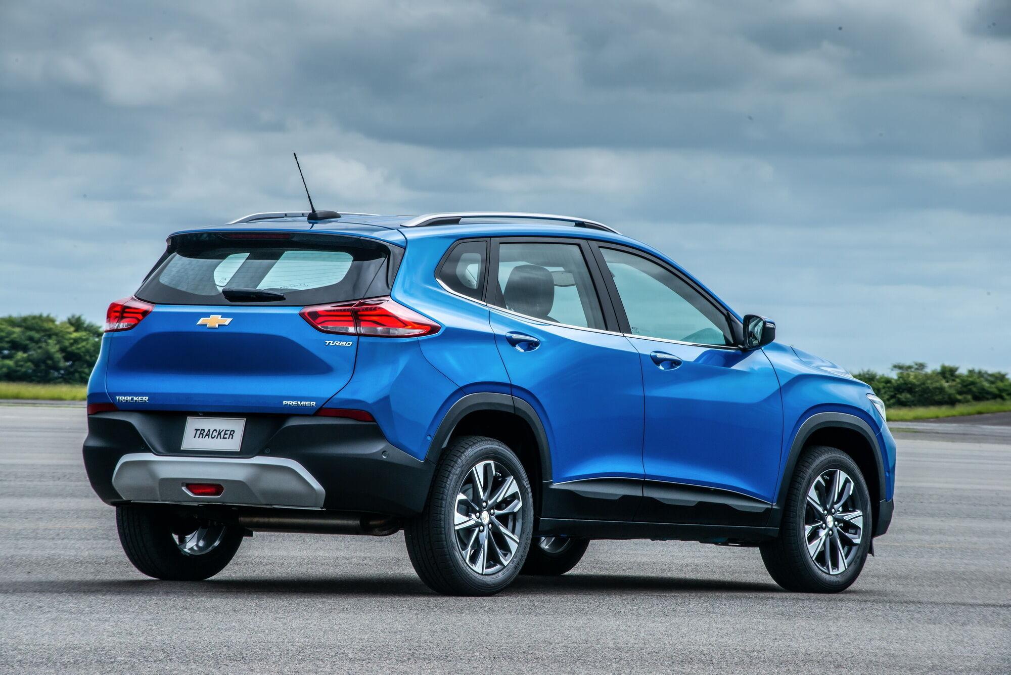 Chevrolet Tracker предлагается исключительно в переднеприводном варианте