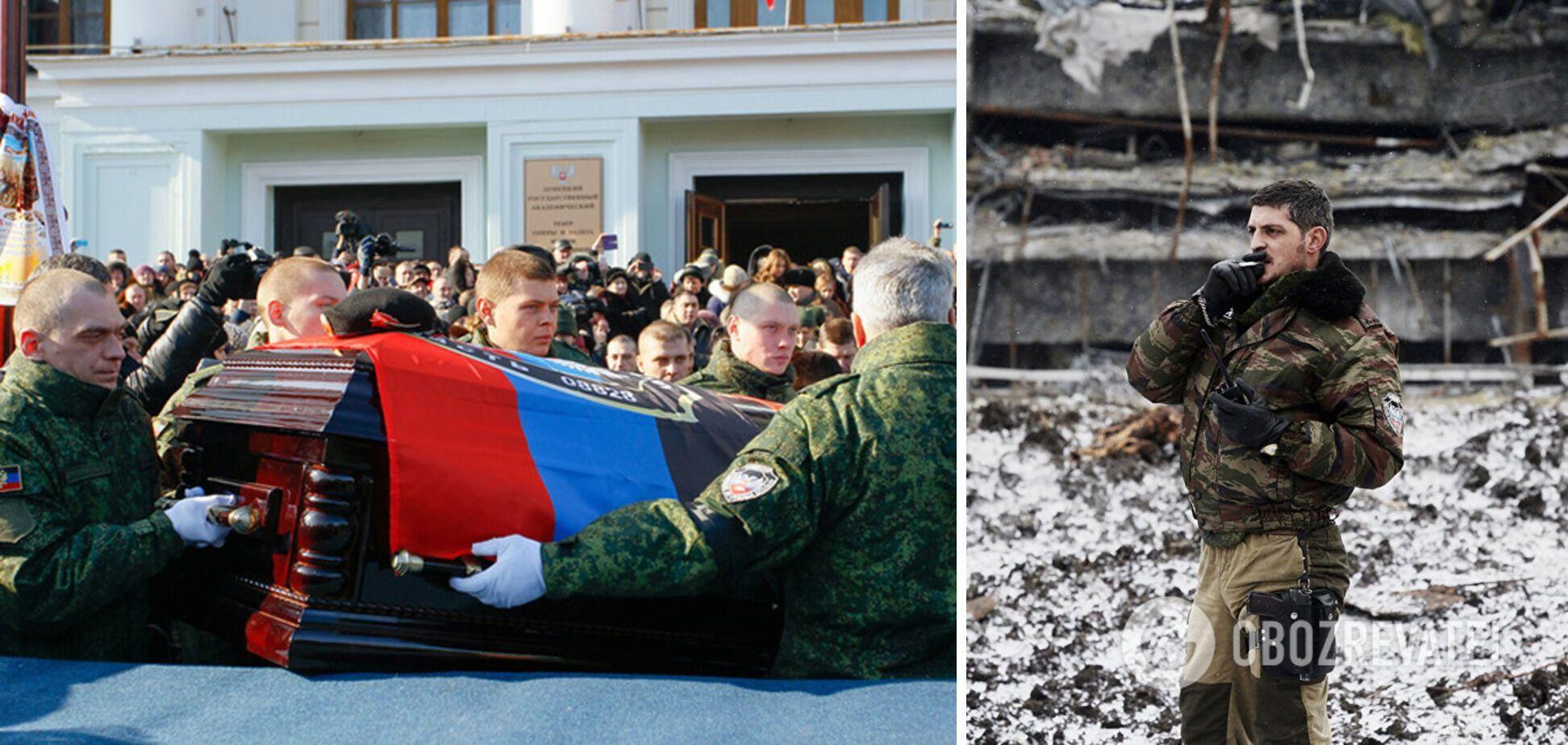 """""""Гіві"""" поховали в Донецьку поряд із """"Моторолою"""""""