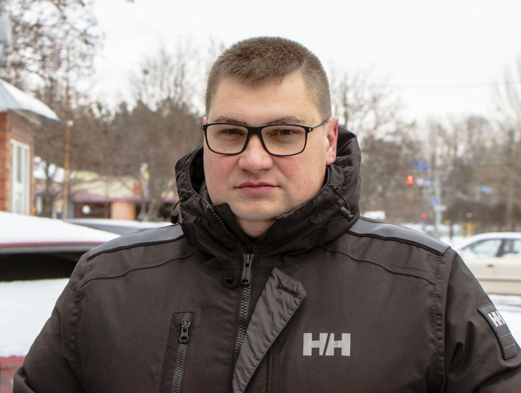 """Директор КП """"Горавтопарк """"Дмитрий Омельченко"""