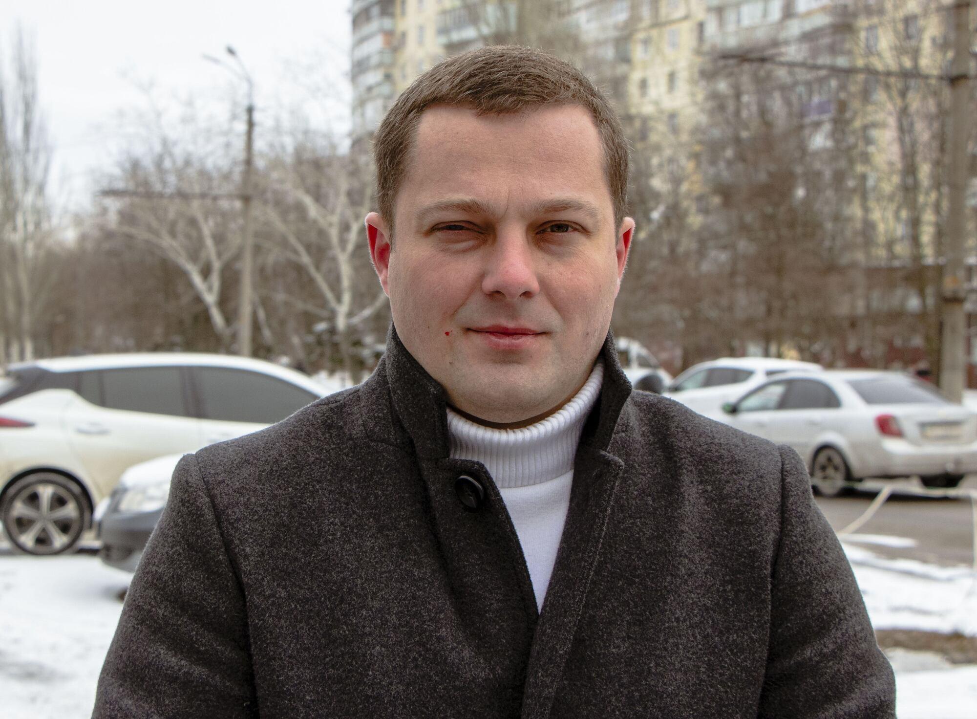 """Представитель компании """"iCharge"""" Дмитрий Антонов"""