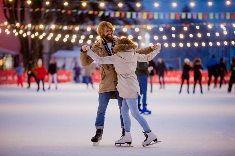 Свято Валентина на ковзанах
