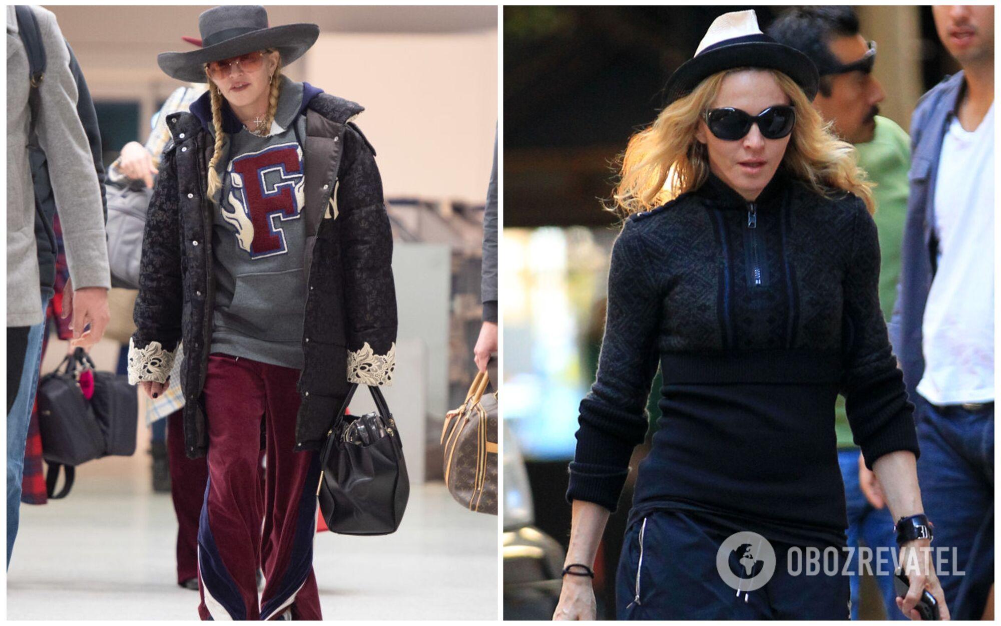 """Мадонна виходить """"в люди"""" тільки в одязі """"бомж-стайл"""""""