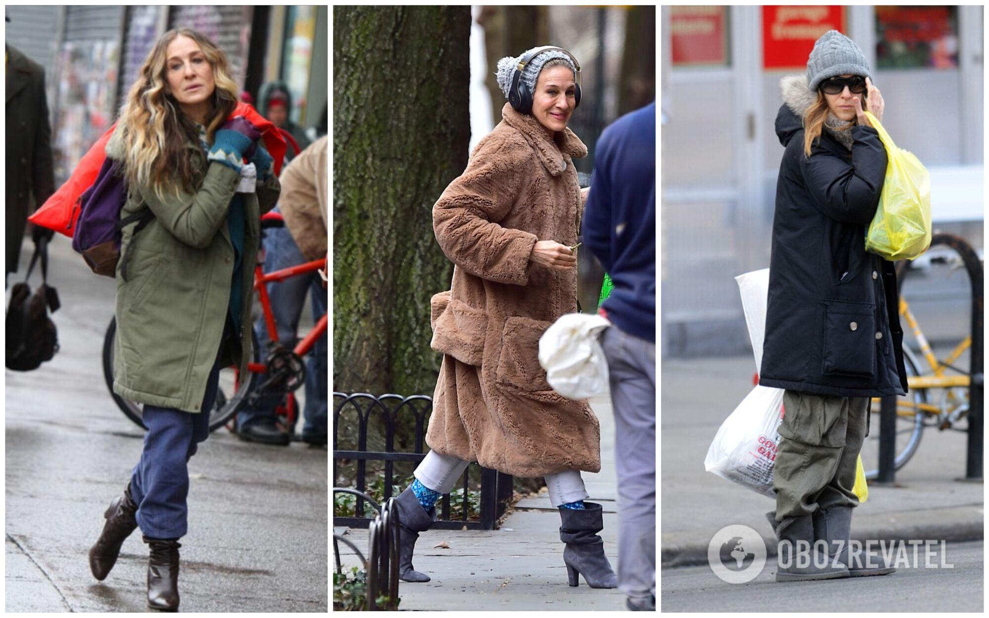 Ікона стилю Сара Джессіка Паркер на вулицях Нью-Йорка