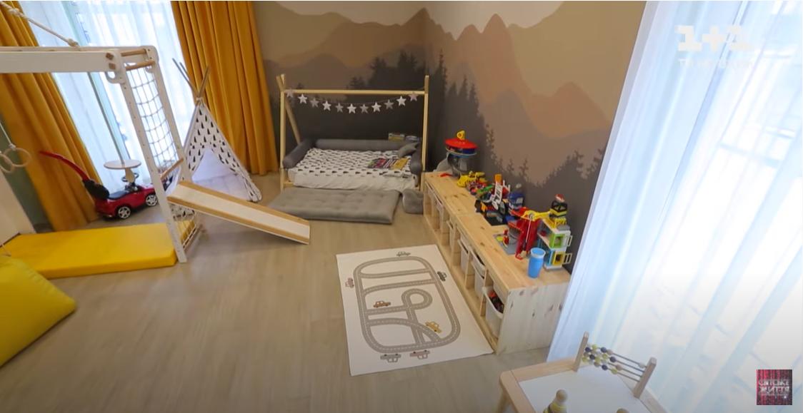 Комната для детей Тарабаровой