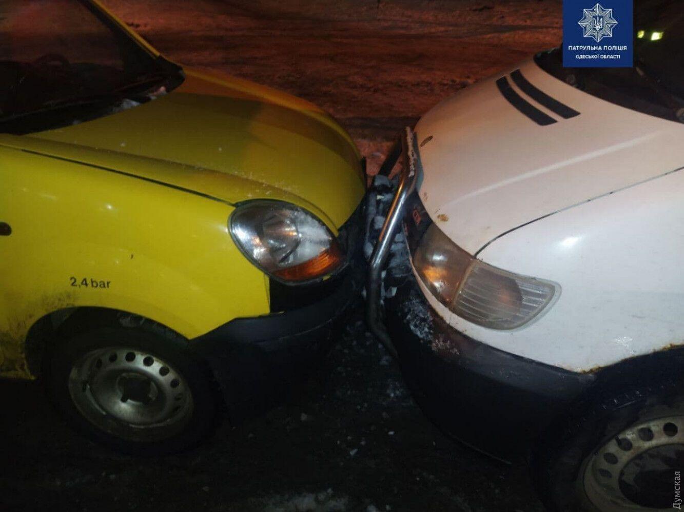 Авария в Одессе.