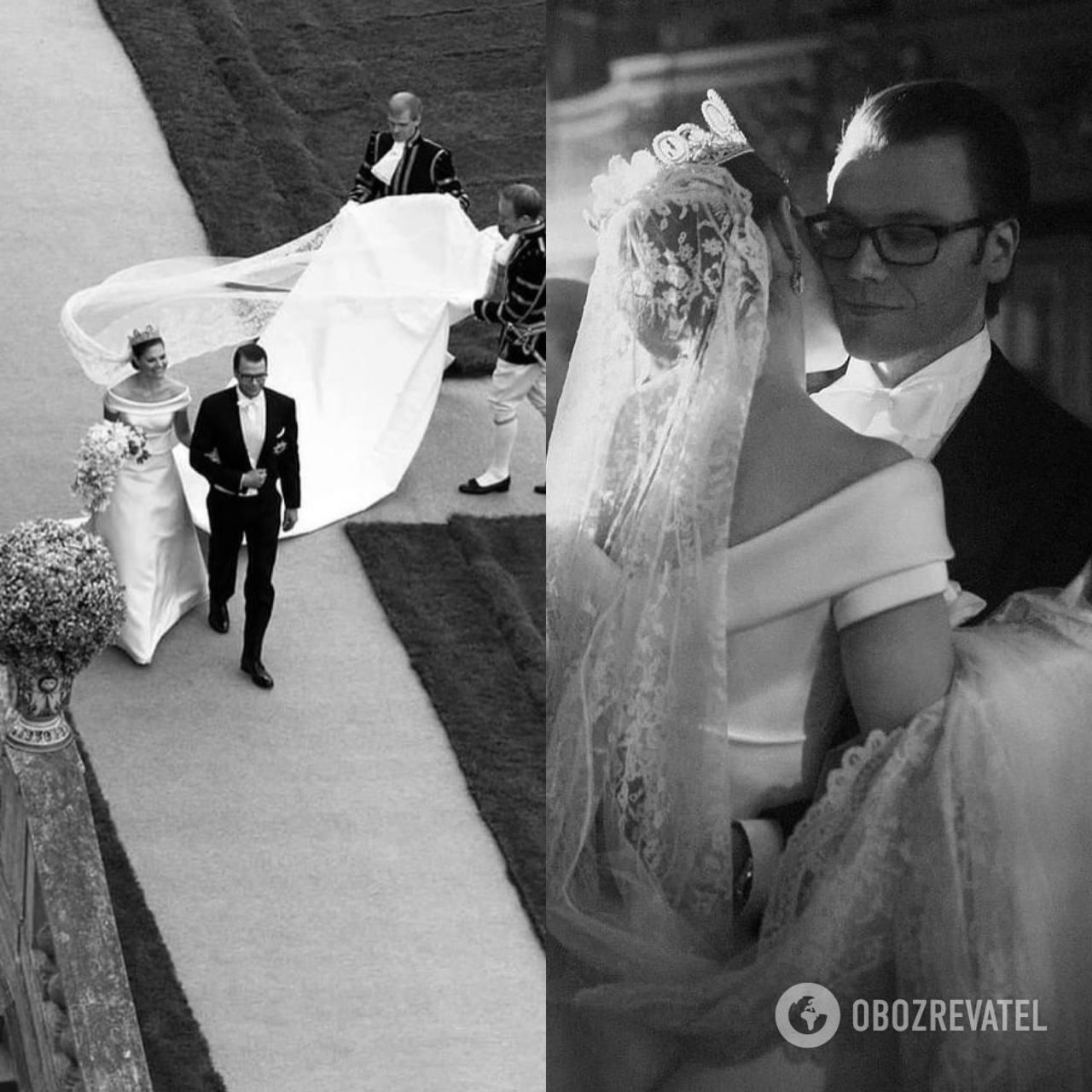 Принцеса Євгенія і принц Даніель поділилися кадрами з весілля