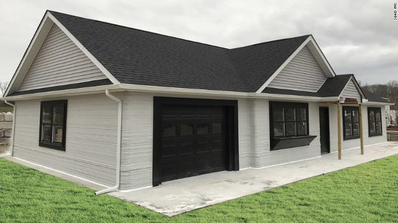 Его стоимость вполовину дешевле аналогичных домов, построенных обычным способом