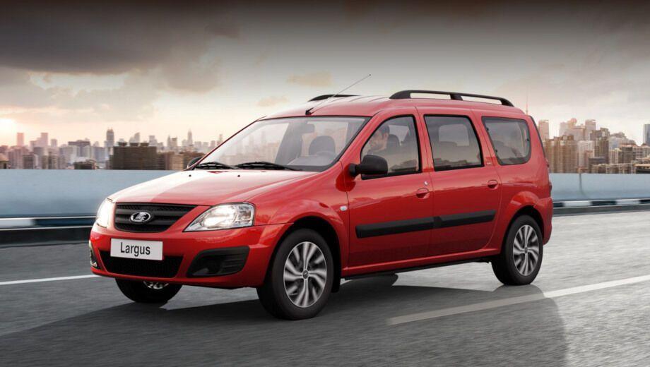 Универсал Lada Largus похож на Renault Logan – это почти тот же автомобиль