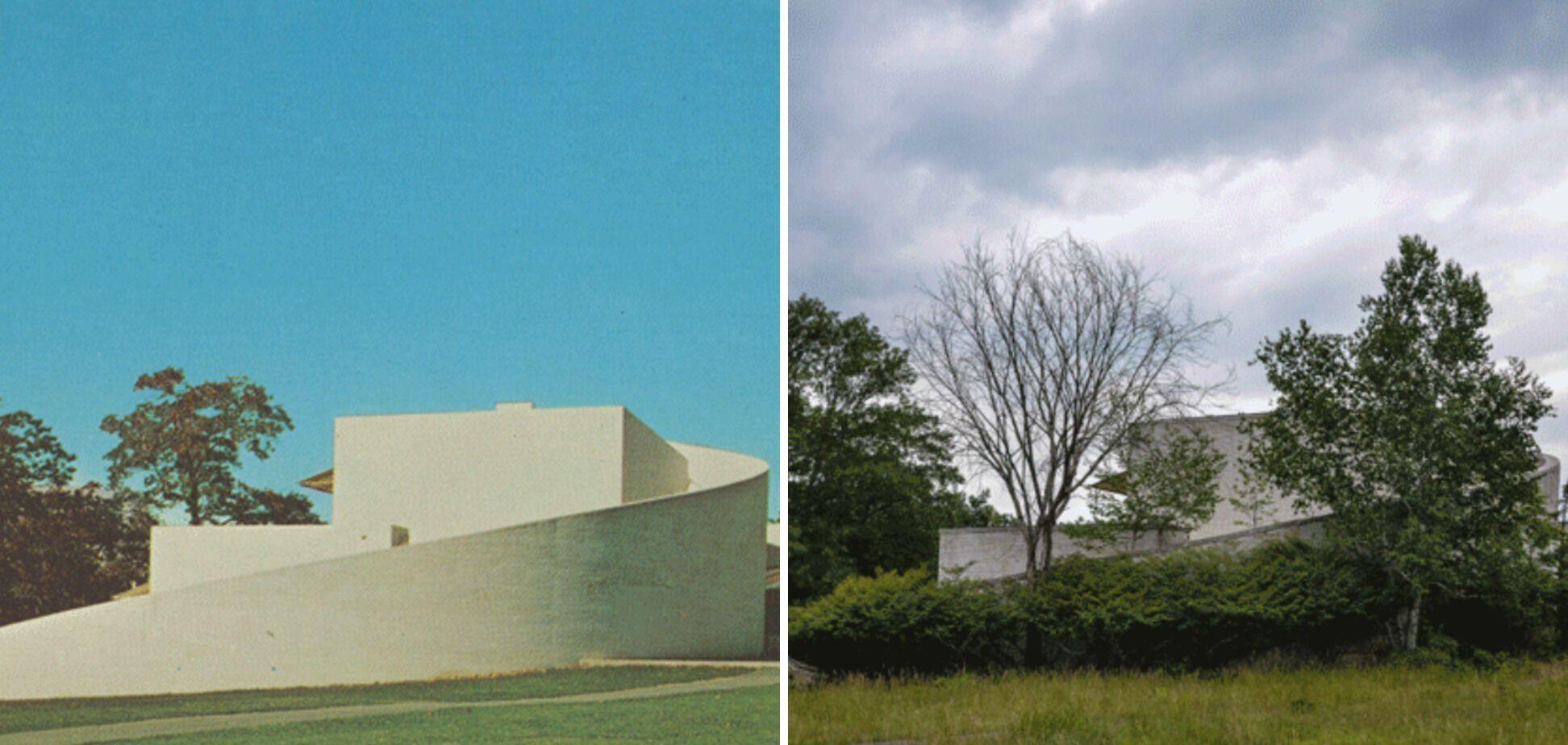Предыдущее здание с другого ракурса