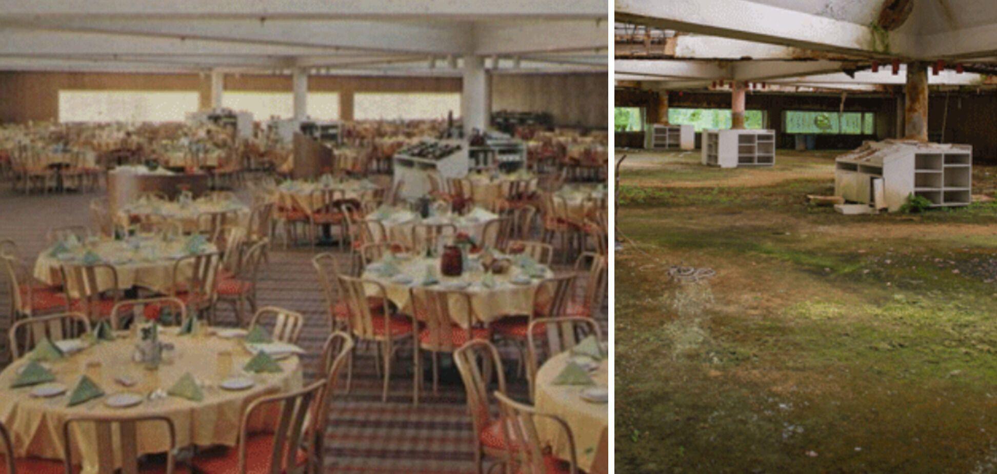 Столовая на элитном курорте в Поконосе