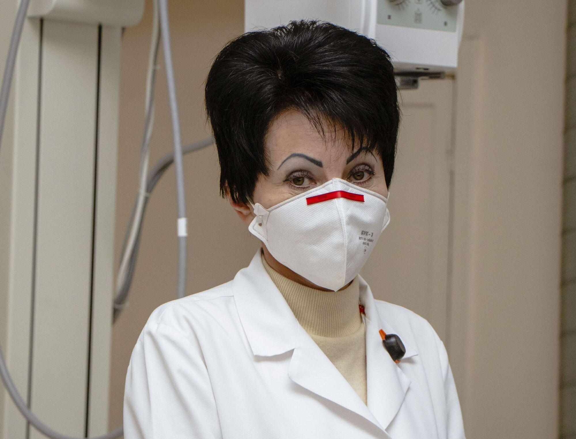 Заведующая рентгенодиагностического отделения больницы Лилия Чередниченко рассказала о минимальном облучении пациентов новыми препаратами