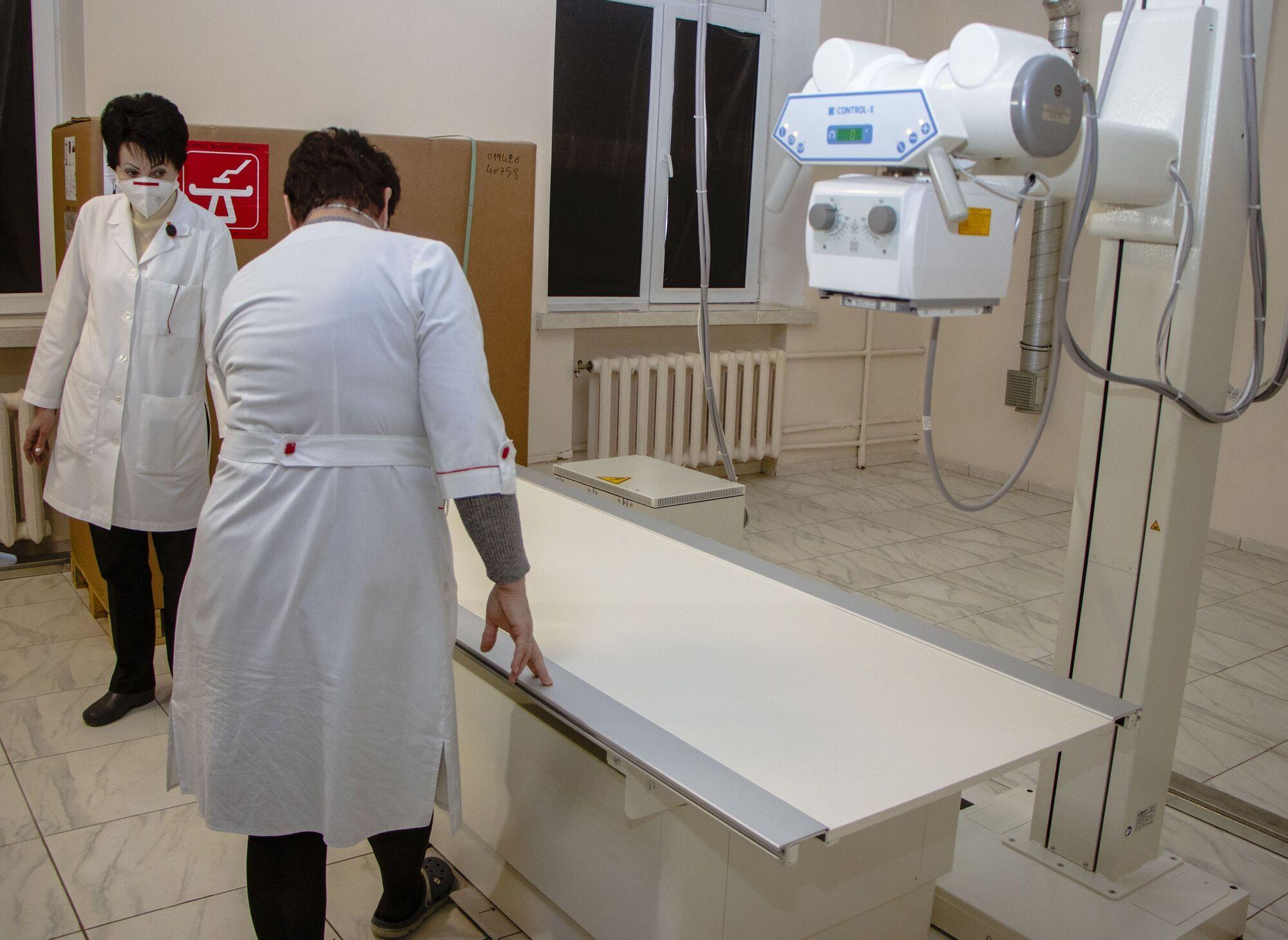 Ремонт заканчивается в операционных блоках хирургического отделения