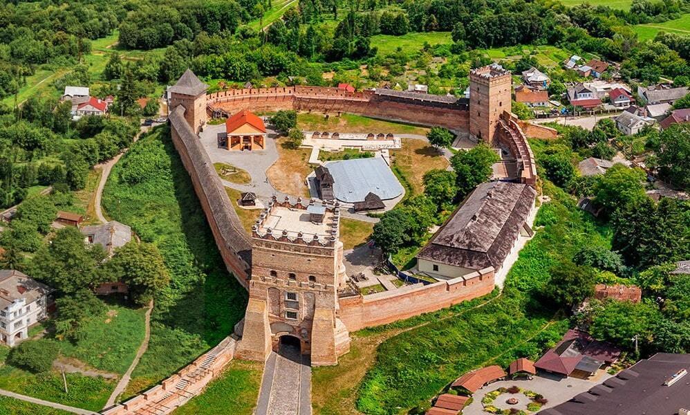 Луцька фортеця на Волині