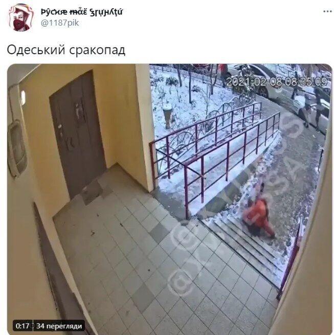 Наслідки ожеледиці в Україні.
