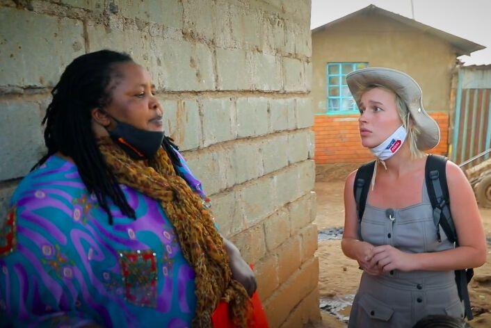"""Ведущая """"Орла и Решки"""" прогулялась по опасному району Найроби"""