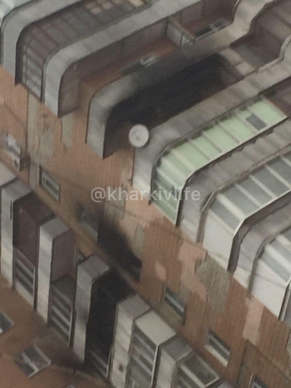 Пожежа в Харкові, загинула людина