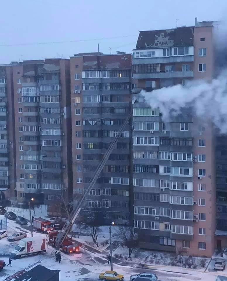 Попередньо, згоріли три квартири
