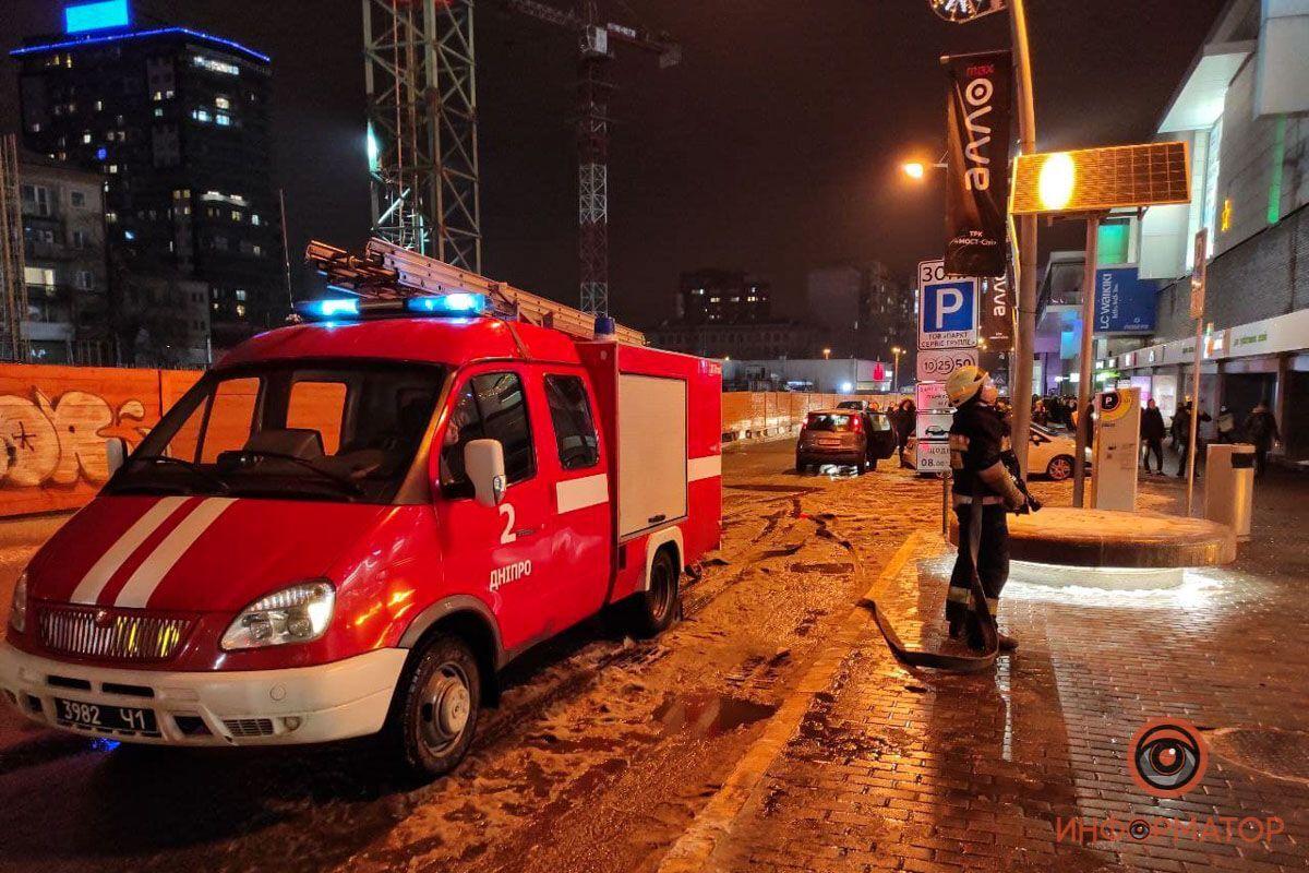 Спасатели на месте инцидента