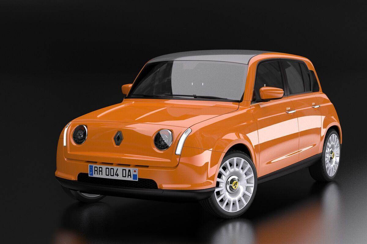 Любительська візуалізація можливого вигляду Renault 4
