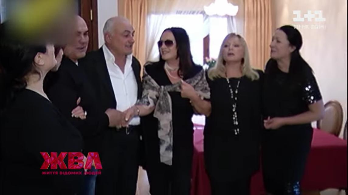 София Ротару с братьями и сестрами