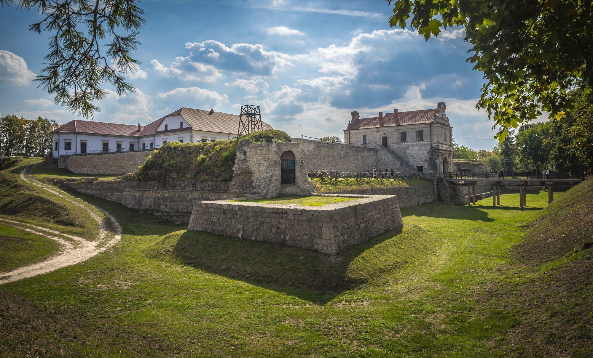 Збаразький замок на Тернопільщині
