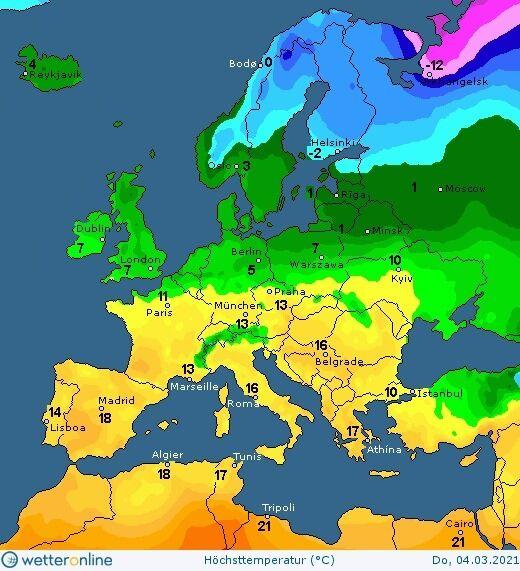 Погода в Украине 2 марта