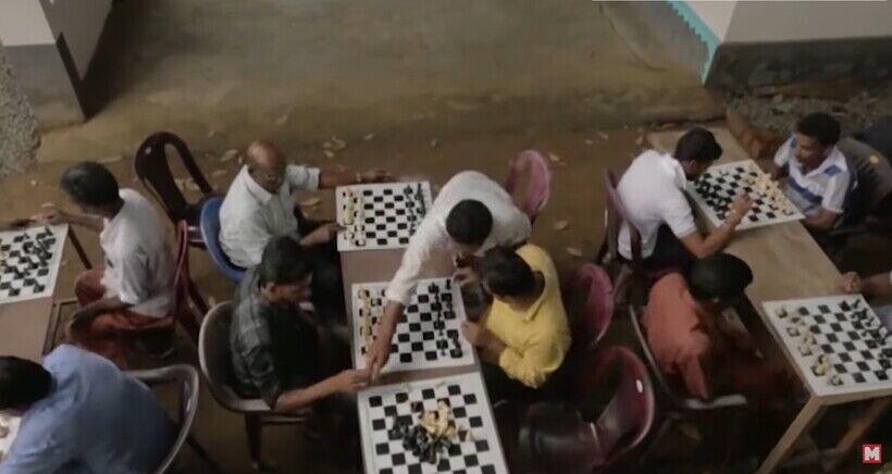 В индийской деревне Мароттичал жители уже более 50 лет играют в шахматы