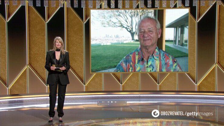 "Билл Мюррей на ""Золотом глобусе 2021"""
