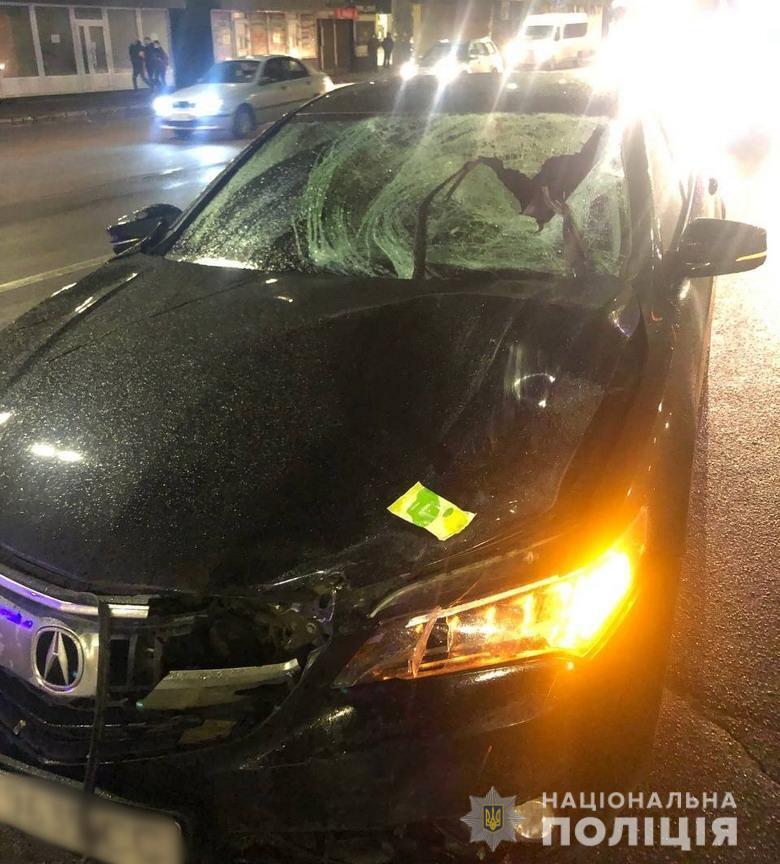 Водій автомобіля в момент ДТП був тверезий.