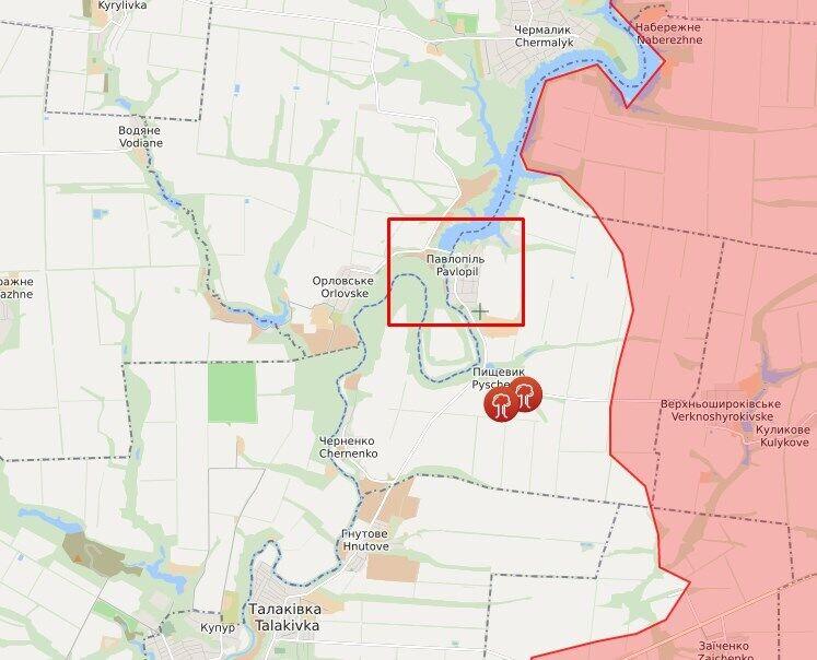 Терористи відкрили вогонь по позиціях ЗСУ в районі Павлополя.