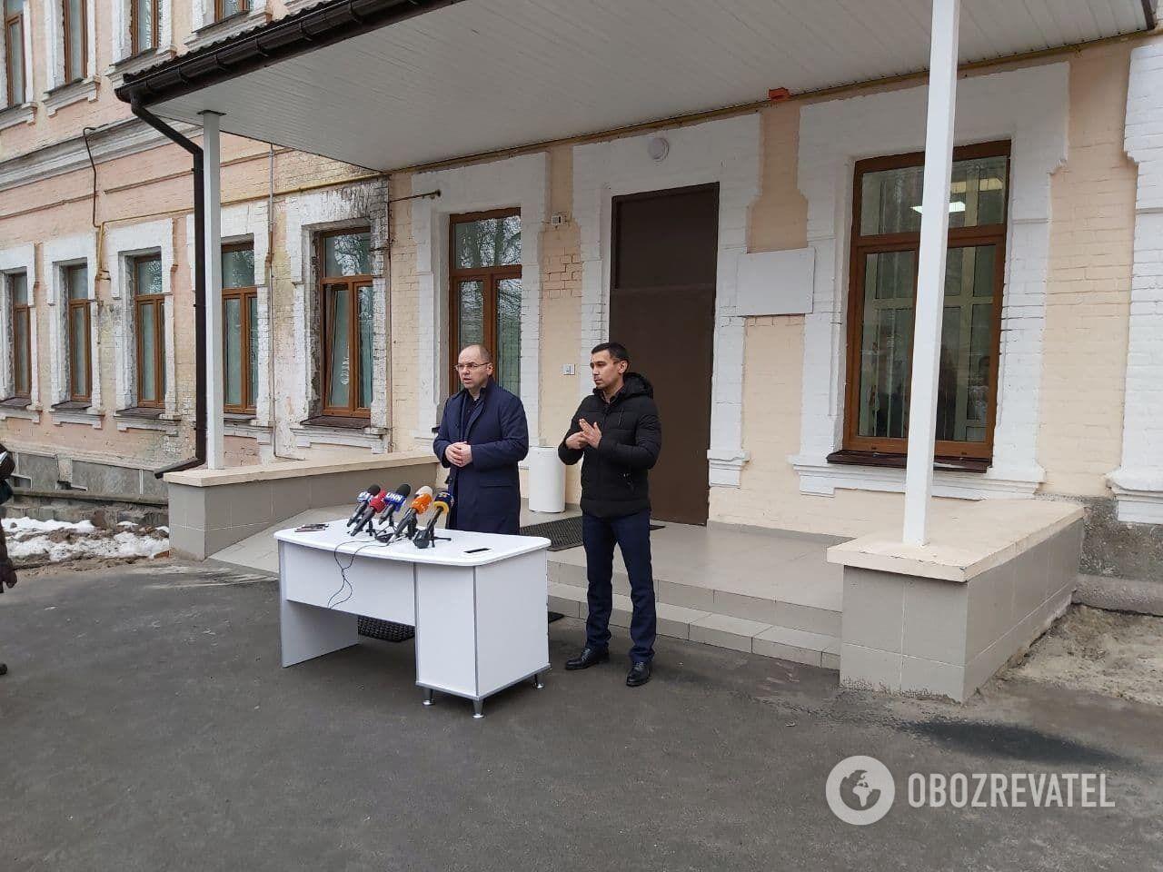 Степанов провів брифінг перед вакцинацією.