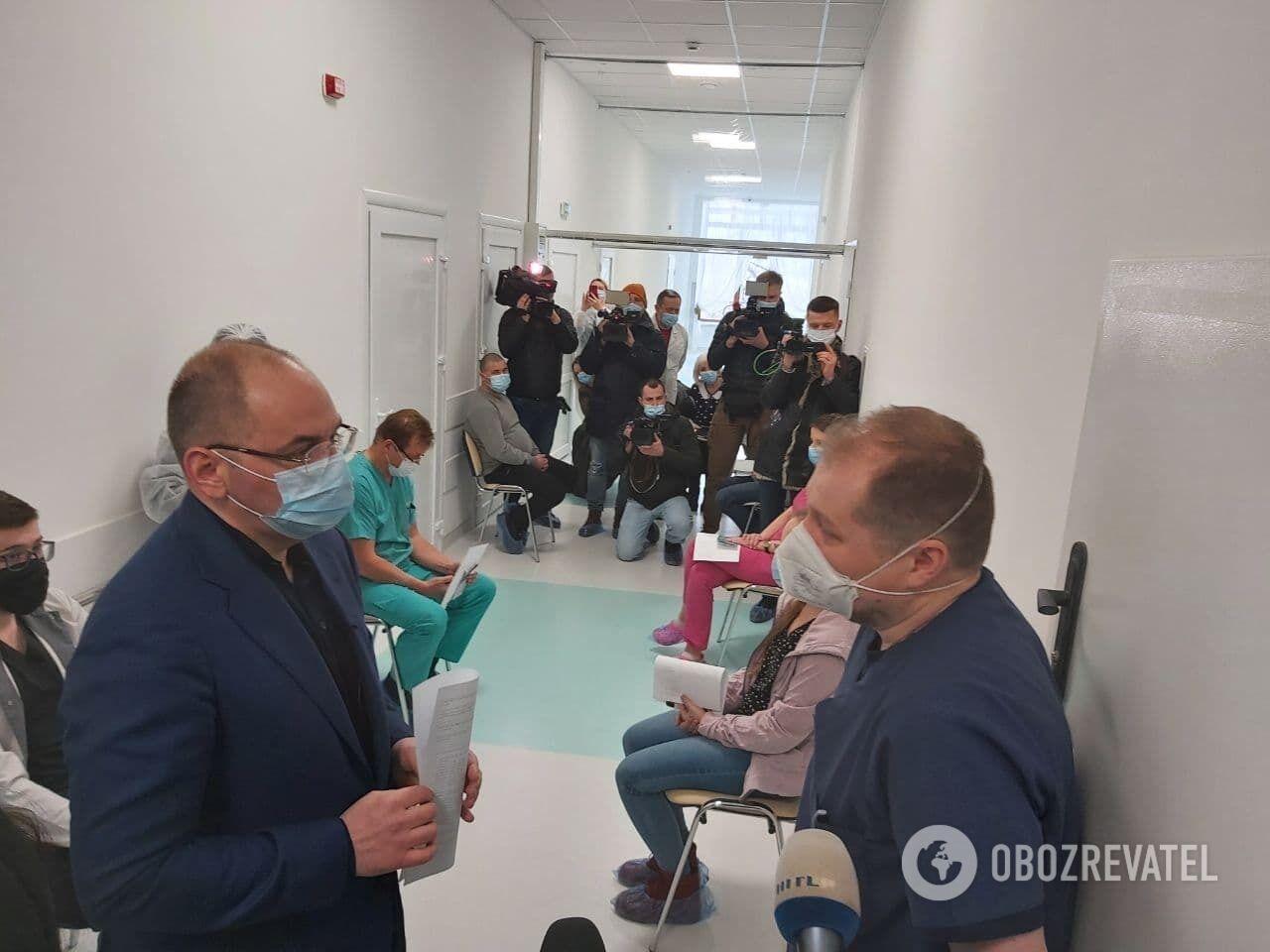 Міністр заявив, що буде використана вакцина CoviShield.