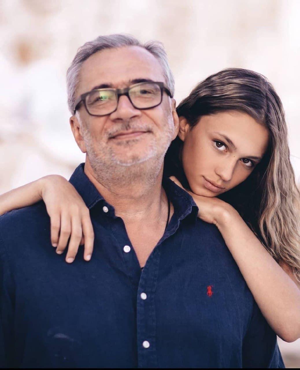 Костянтин Меладзе з донькою Лією.