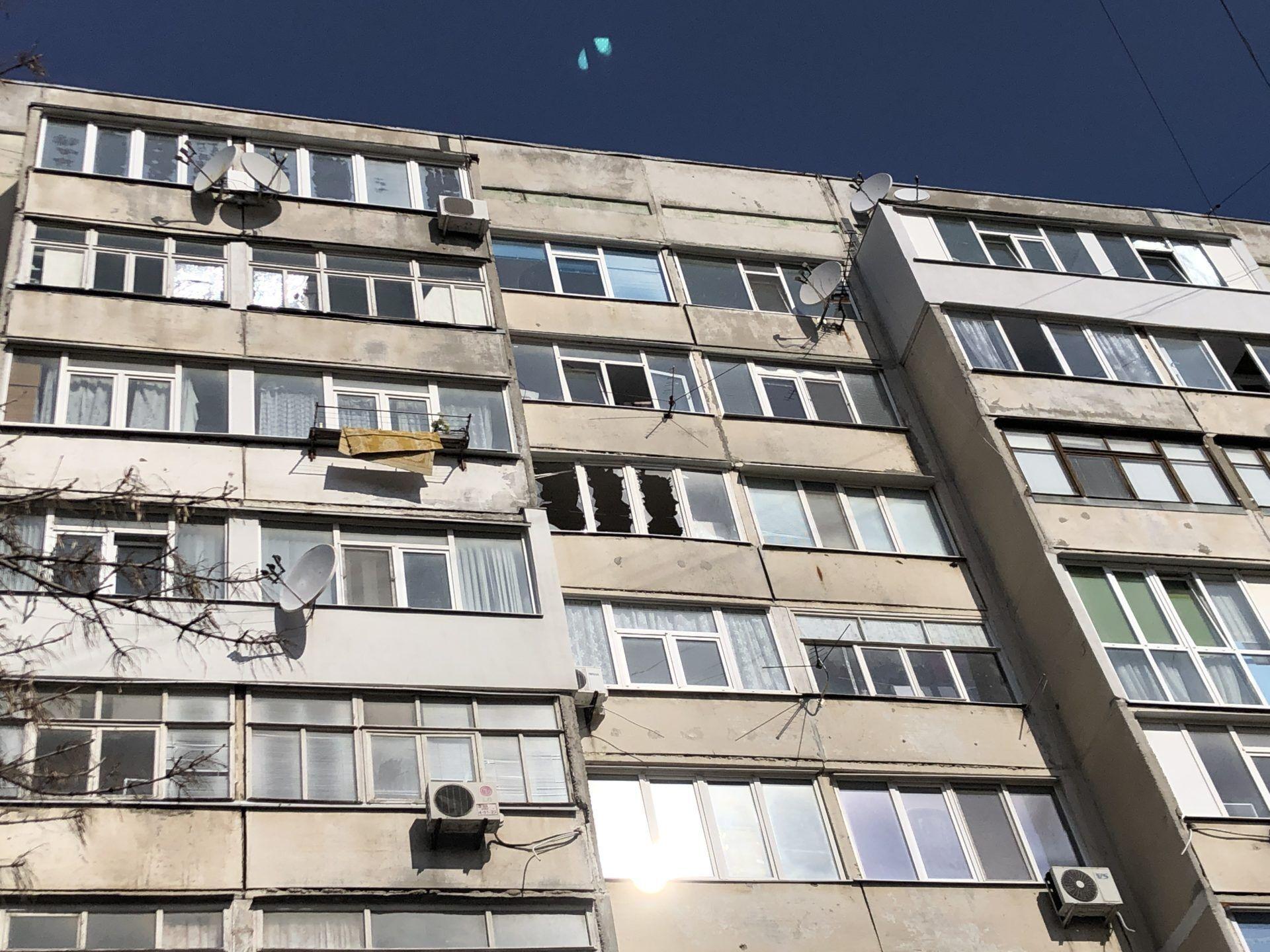 Взрыв произошел на 7-м этаже 9-этажки