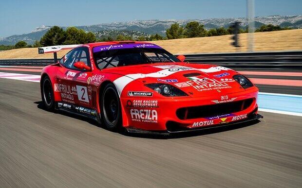 Ferrari 550 GT1 Prodrive брав участь у 49 перегонах