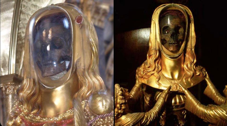 Во Франции хранят мощи Марии Магдалины.