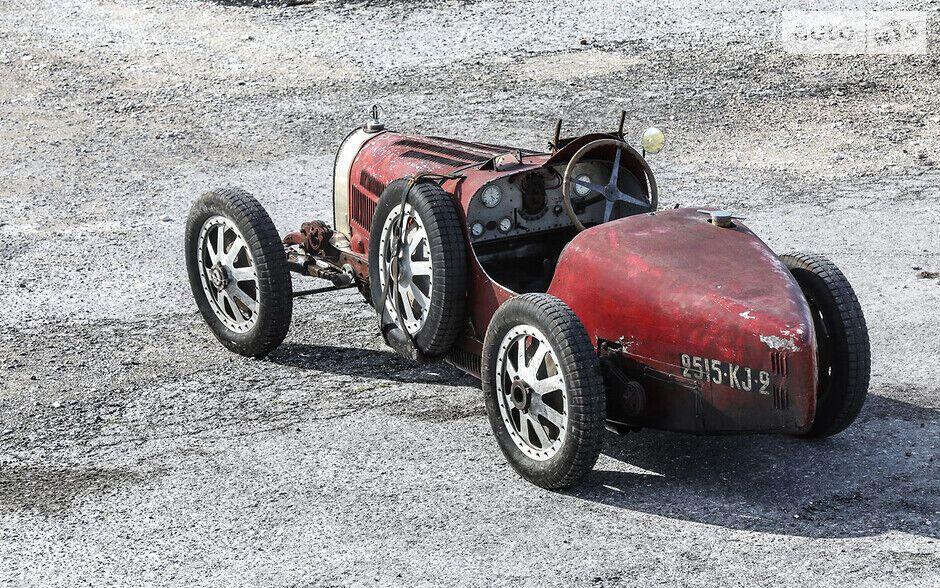 Bugatti Type 35C Grand Prix, на якому Жанін Женнкі перемогла в Coupe de Bourgogne