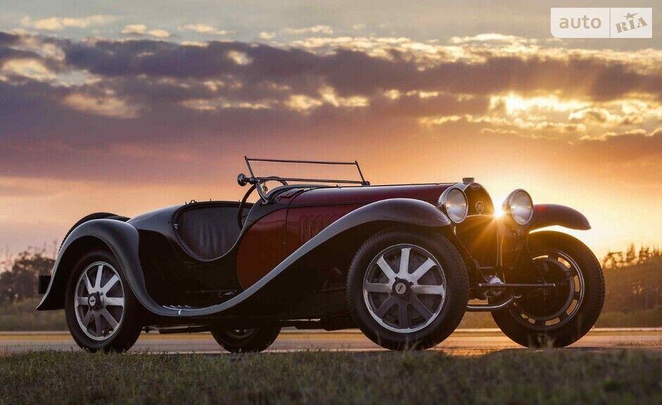 Bugatti Type 55 Super Sport Roadster без дверей