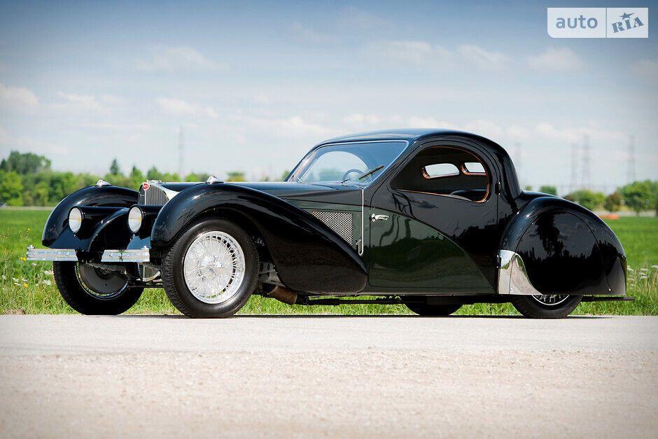 Дизайн Bugatti Type 57S Atalante створив Жан Бугатті
