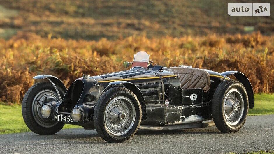Bugatti Type 59 Sports належала королю Бельгії Леопольду III