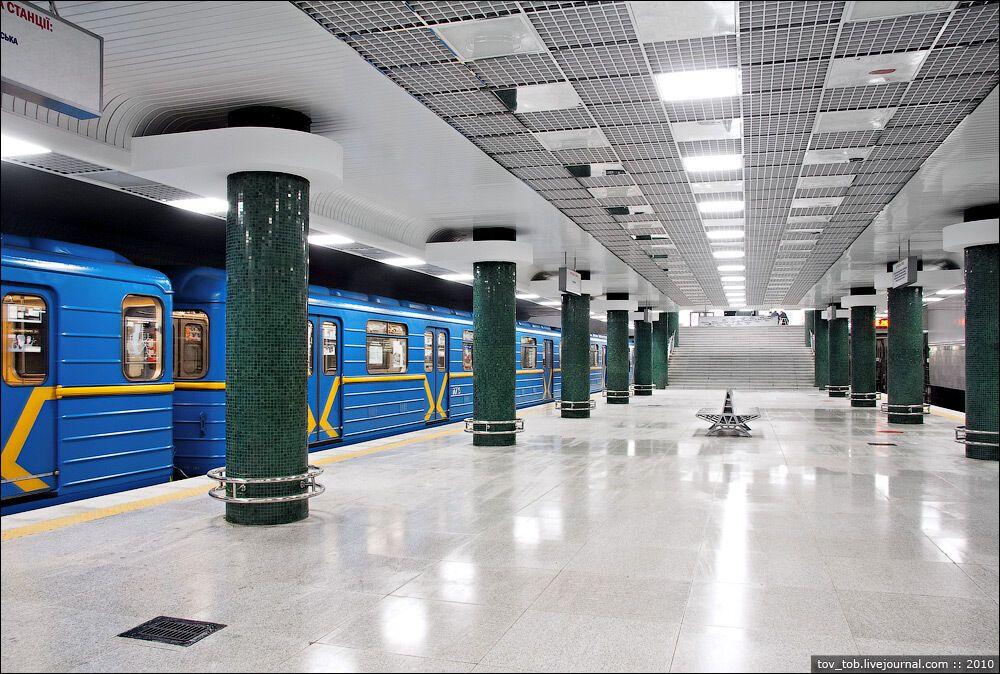 Такой станция была построена