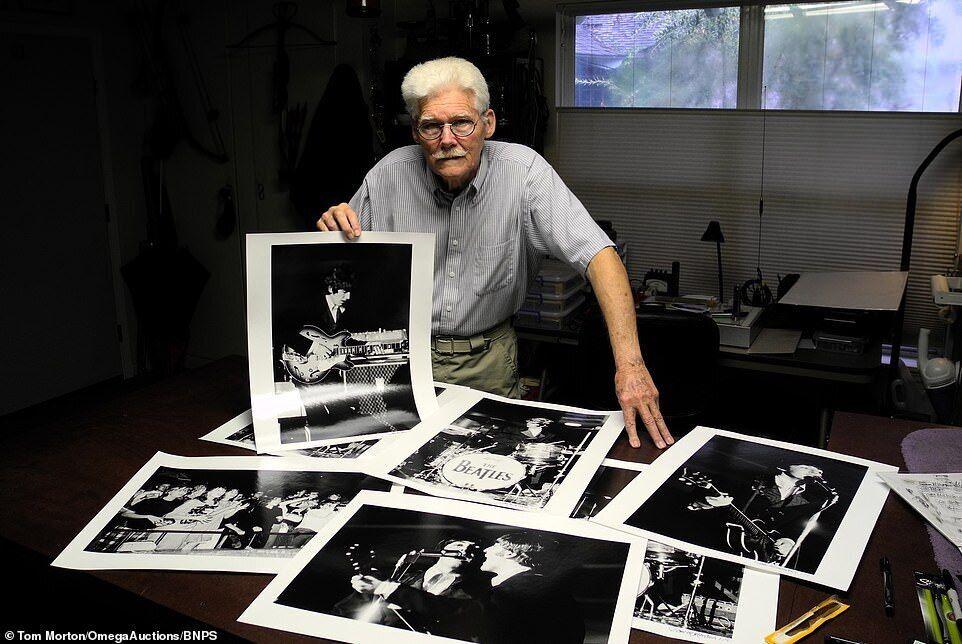 Фотограф Том Мортон показал архивные кадры
