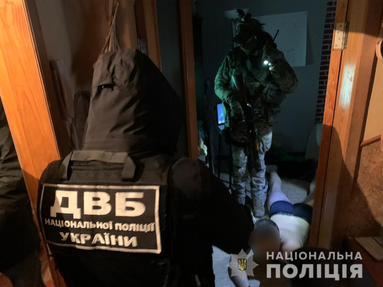 Правоохранители провели задержание харьковчанина
