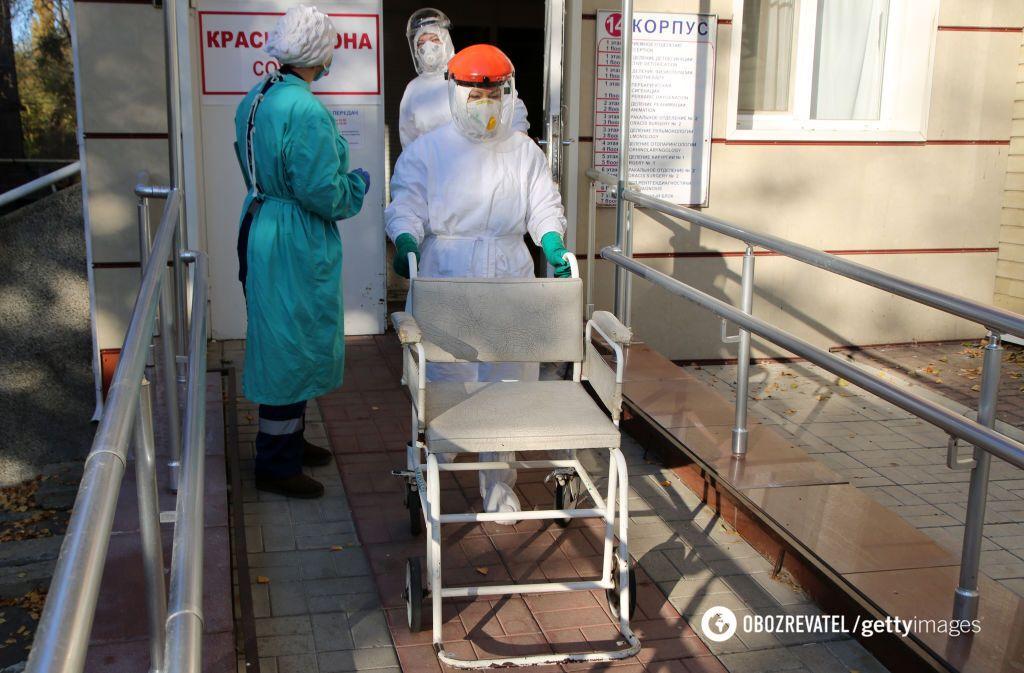 Жители Донбасса боятся попадать в больницы