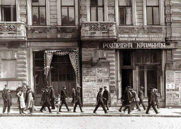Фотография Харькова в начале 1920-х годов