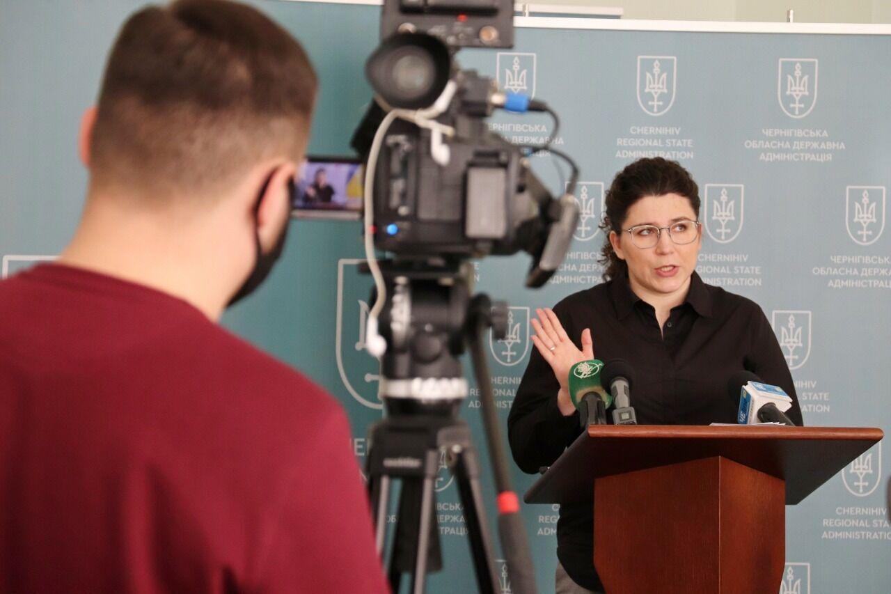 Глава Черниговщины представила 10 масштабных инфраструктурных проектов 2021 года
