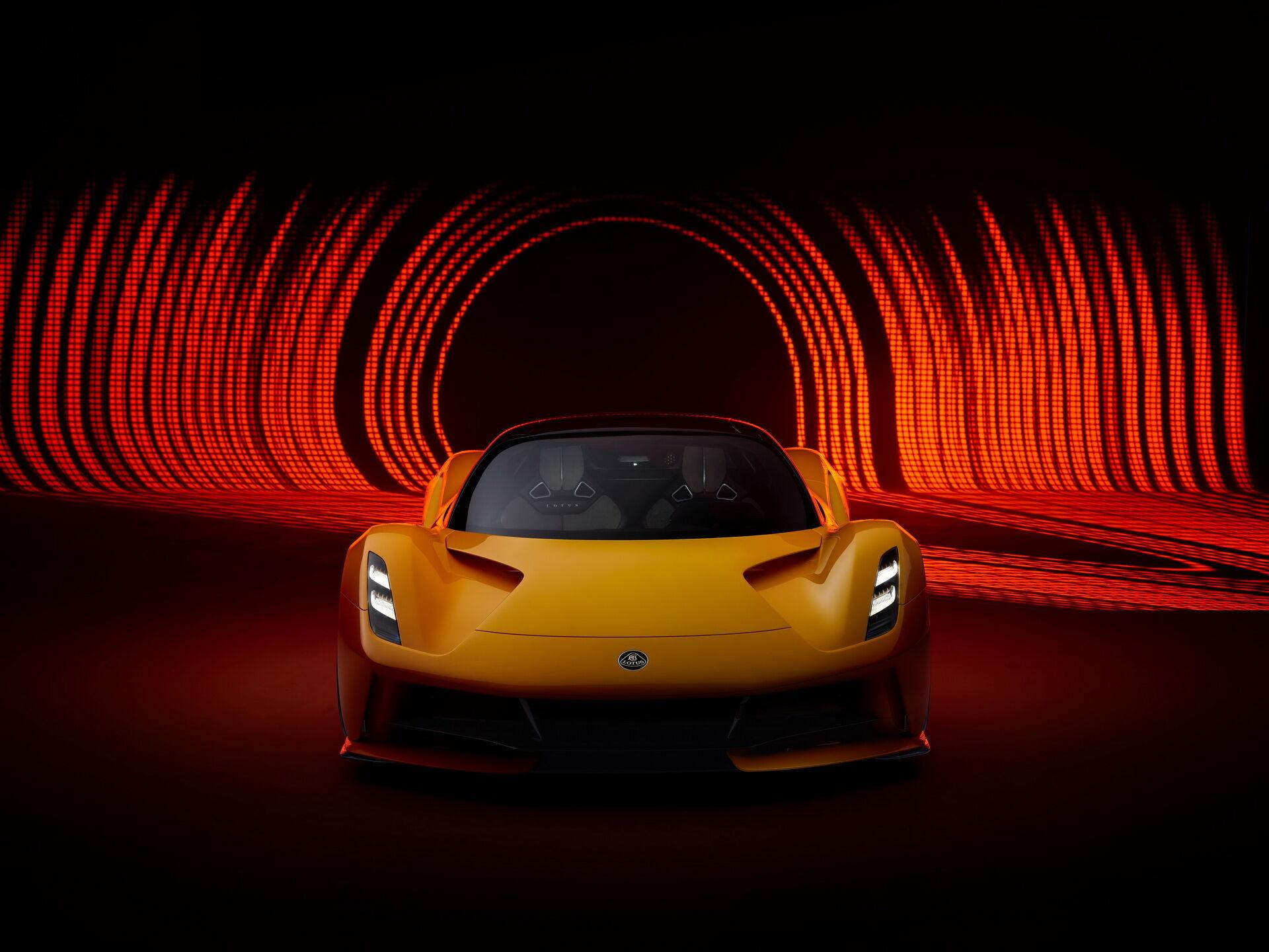 Перший електричний гіперкар британського бренда Lotus Evija